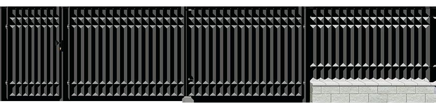 Ogrodzenie Madera - wariant